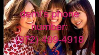 Demi Lovato's REAL PHONE NUMBER & ADDRESS! WITH PROOF