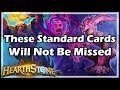 Hearthstone These Standard Cards Will Not Be Missed