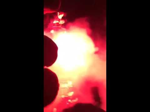 Neftchi fans  Azerbaijan on fire