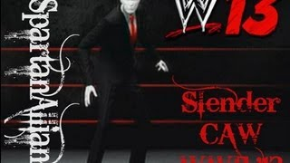 WWE '13 Daily CAWs WWE '13 Slender CAW (PS3)