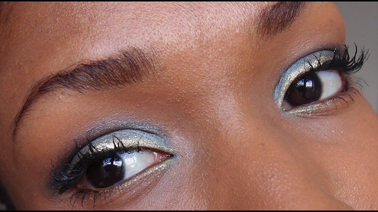 Maquillage Yeux Bleu Turquoise Indigo Dor Eyes Make