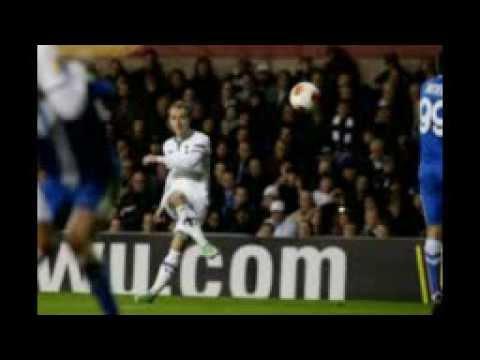 Full Time Match ends, Tottenham Hotspur vs Dnipro, 3-1.