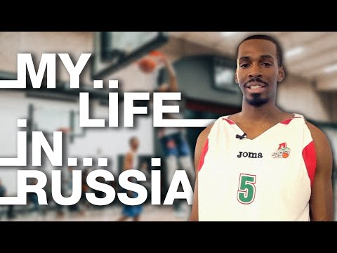 My life in Russia: Derrick Brown from Oakland , USA