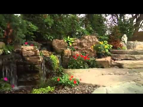 A Backyard Aquatica! Ponds Inc... Creating a life of flowing smiles! Jump in!