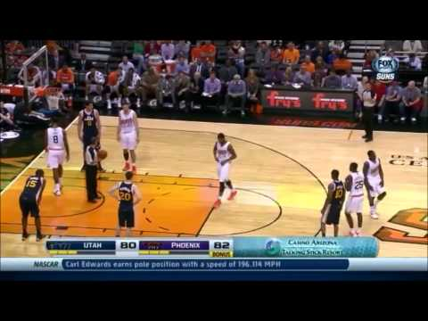 Eric Bledsoe's  17-Point Fourth Quarter Highlights and Game Winner vs. Jazz (11/1/13)