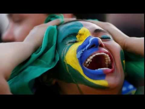 Germany VS Brazil (7-1 )Tears in the eyes of Brazilian (World Cup 2014 )