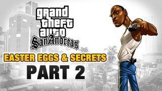 GTA San Andreas Easter Eggs And Secrets Part 2