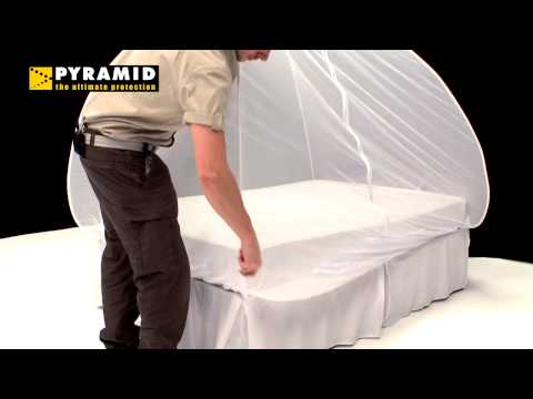 Pyramid Mosinet Single Bed Pop-up Mosquito Net