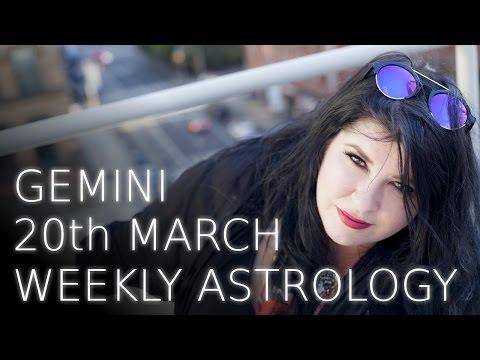 Gemini Weekly Astrology Forecast 20th March 2017