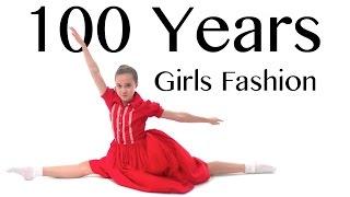 100 Years of Girls Fashion — Lammily — Music by Edvin Marton