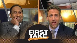 Max hilariously accuses Stephen A. of being 'very disrespectful' to Rockets | First Take | ESPN