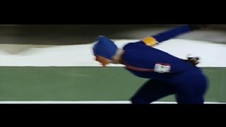 Ard Schenk Wins Speed Skating Triple Gold Sapporo 1972