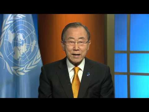 Ban Ki-moon - Message au peuple centrafricain