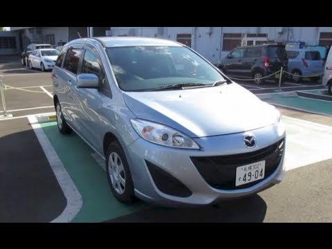 2012 mazda premacy mazda 5 exterior interior youtube. Black Bedroom Furniture Sets. Home Design Ideas