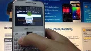 Liberar Samsung B5510 Galaxy Y Pro De Movistar, Orange Y