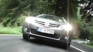 Vergleichstest Honda Accord vs Ford Mondeo videos