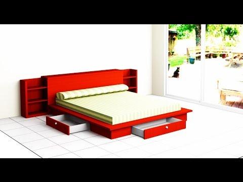 como hacer una cama de dormitorio