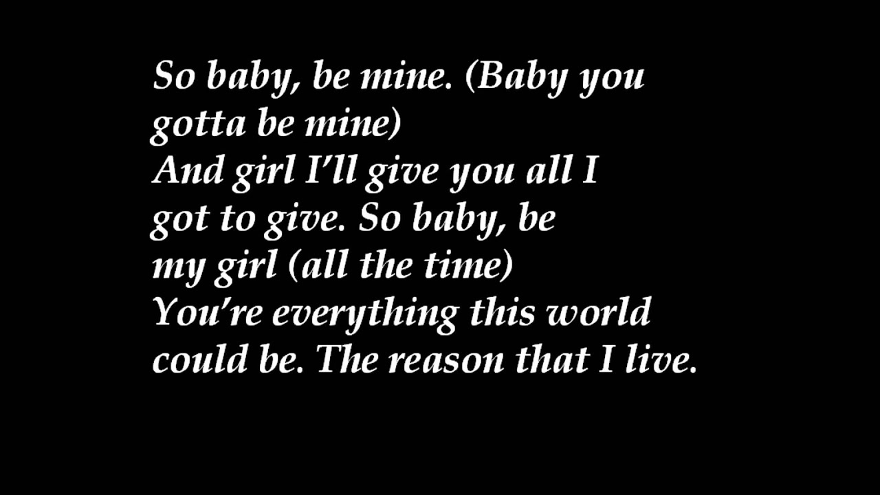 Ashanti - Baby Lyrics | MetroLyrics