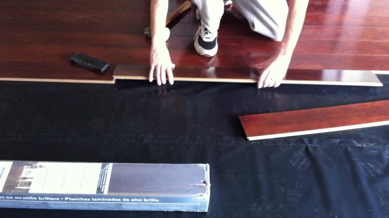 How to install armstrong high gloss laminate flooring for Armstrong laminate flooring installation