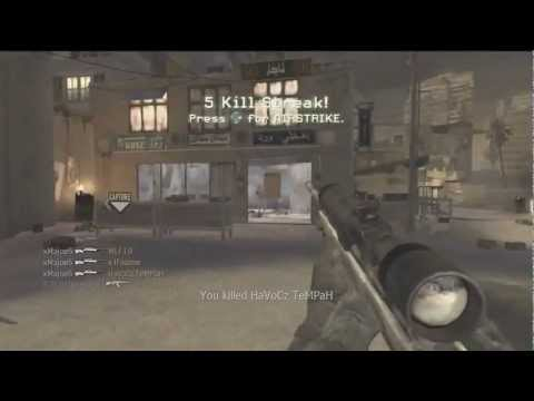 Insane CoD4 M40A3 Feed!!!
