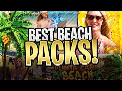 MY BEST FIFA BEACH PACKS!! 5 SPECIAL CARD IN 1 PACK!