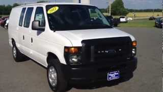 NEW 2012 Ford E-150 Cargo Van For Sale videos