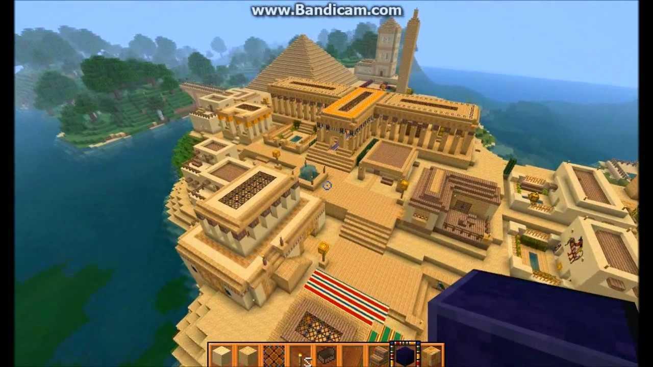 Minecraft Timelapse - Ancient Egyptian City