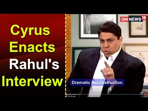 TWTW: Cyrus enacts Rahul's interview to a TV news channel
