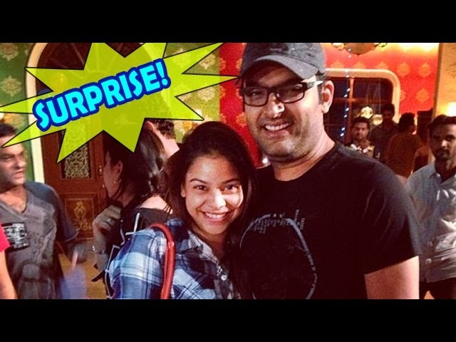 Comedy Nights with Kapil : Kapil Sharma's SURPRISE Birthday Bash on the sets