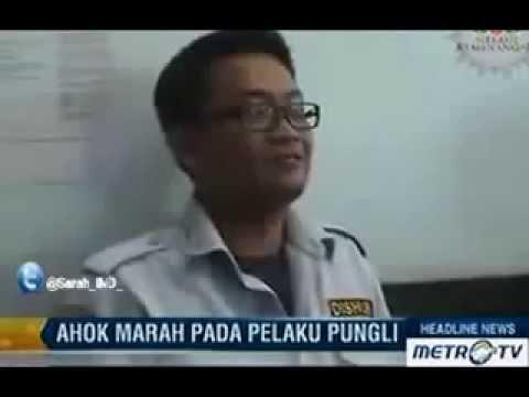 AHOK  PECAT PNS petugas KIR Langsung ditempat.