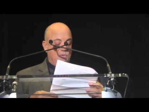 Billy Joel-Madison Square Garden Press Conference