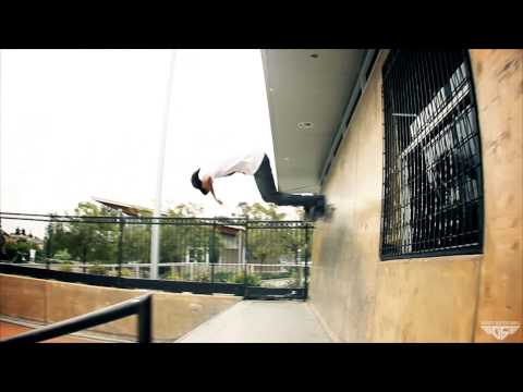 Gravity Skateboards - Richard Camacho on Fire