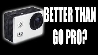 Better Than A Go Pro Hero 3? The SJ4000