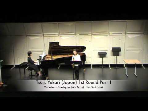 Tsuji, Yukari (Japon) 1st Round Part 1