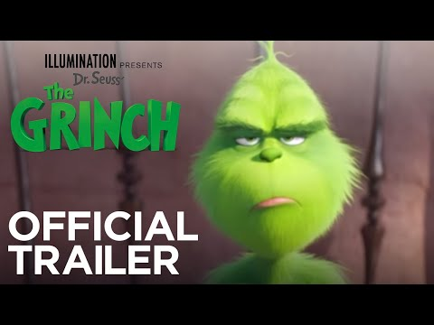 Grinch - trailer na animák
