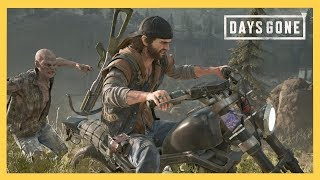 Days Gone game play! Awesome open world zombie PS4 exclusive - Sponsored by Sony | Swiftor