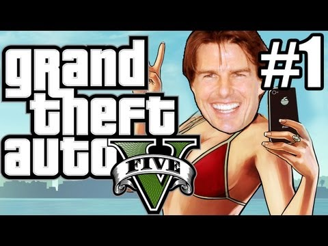 GTA 5 (Grand Theft Auto 5) Gameplay - FREE HUGS!, pewdie