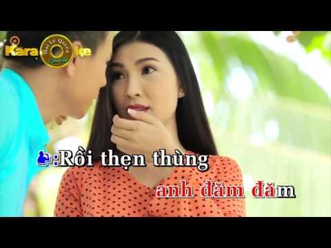 Karaoke Tình Nhỏ Mau Quên _ Song Ca Với Cẩm  Tiên
