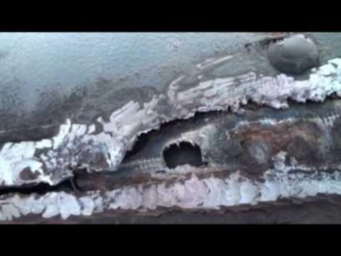 Reparation coque fibre de verre