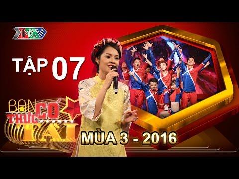 BẠN CÓ THỰC TÀI | Mùa 3 - Tập 7 | Dương Cẩm Lynh lần đầu ngồi ghế nóng | 09/05/2016