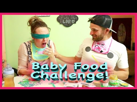BABY FOOD CHALLENGE GONE WRONG! | 9 MORE DAYS!!