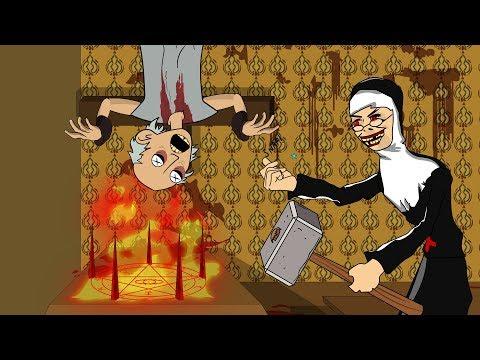 EVIL NUN THE HORROR GAME ANIMATION #2 : GRANNY Vs Scary Evil Nun