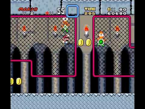 Super Mario World - Super Mario World High Score Attempt (SNES) - User video