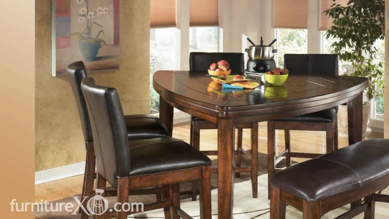 Larchmont Counter Height Casual Dining Set by Signature  : maxresdefault from www.youtube.com size 1920 x 1080 jpeg 142kB
