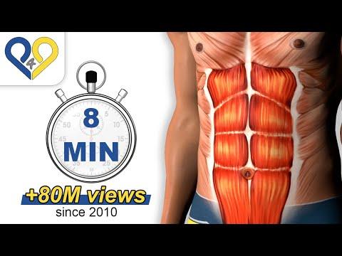 每日8分鐘,練出完美腹肌!