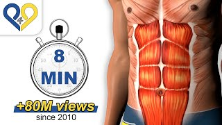 8 Min Abs Workout, How To Have Six Pack (HD Version)