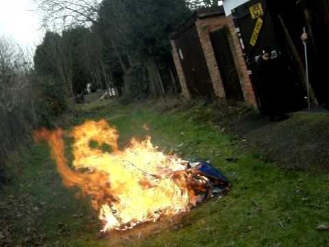 Tardis on fire youtube
