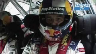 Vid�o WRC Finlande 2010 Jour 2 Accident Raikkonen Saut Loeb par Motors TV (6803 vues)