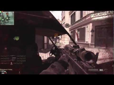 Modern Warfare 3 Sniper Gameplay - Barret 50. Cal, Dragunov