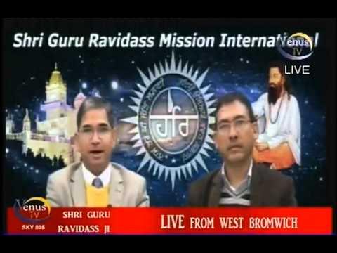 Vidya Bhushan  Rawat at Kanshi TV 23rd Nov 2013 while visiting UK